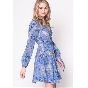 Yumi Kim Carla Paisley Wrap Dress